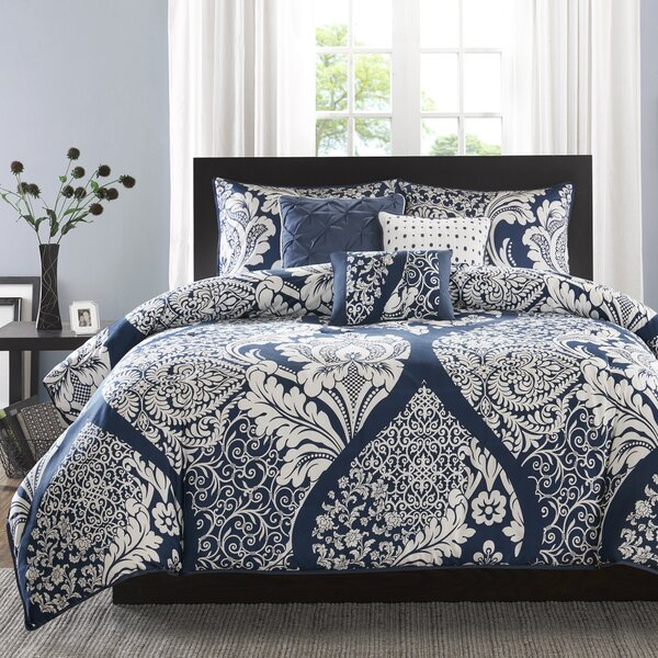 Goodwin 180 Thread Count 100% Cotton Duvet Set by Three Posts